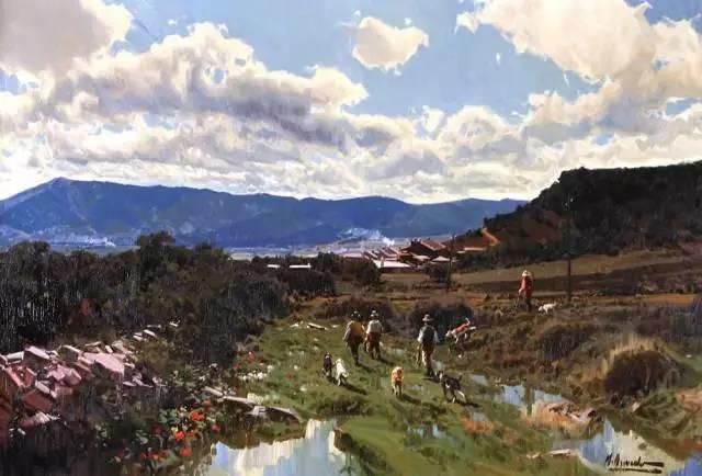 西班牙画家Felipe Santamans色粉作品欣赏插图45
