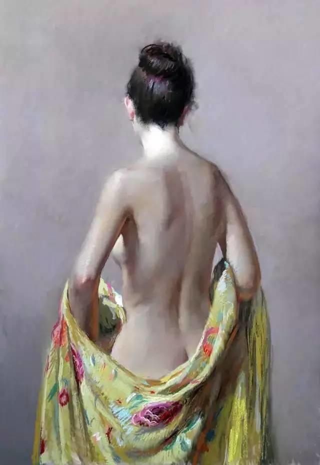 西班牙画家Felipe Santamans色粉作品欣赏插图49