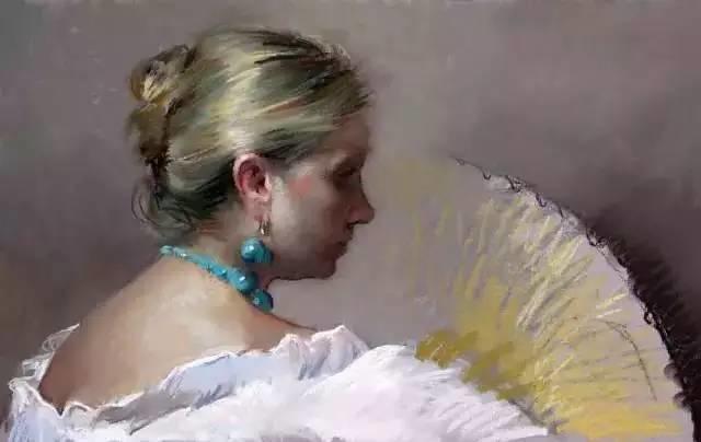 西班牙画家Felipe Santamans色粉作品欣赏插图51
