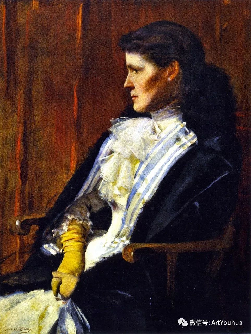 美国社会肖像女画家Cecilia Beaux插图13