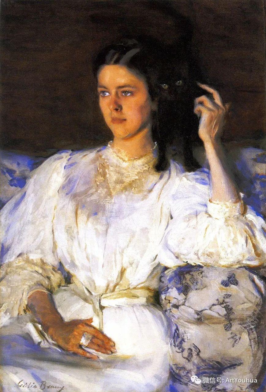 美国社会肖像女画家Cecilia Beaux插图27