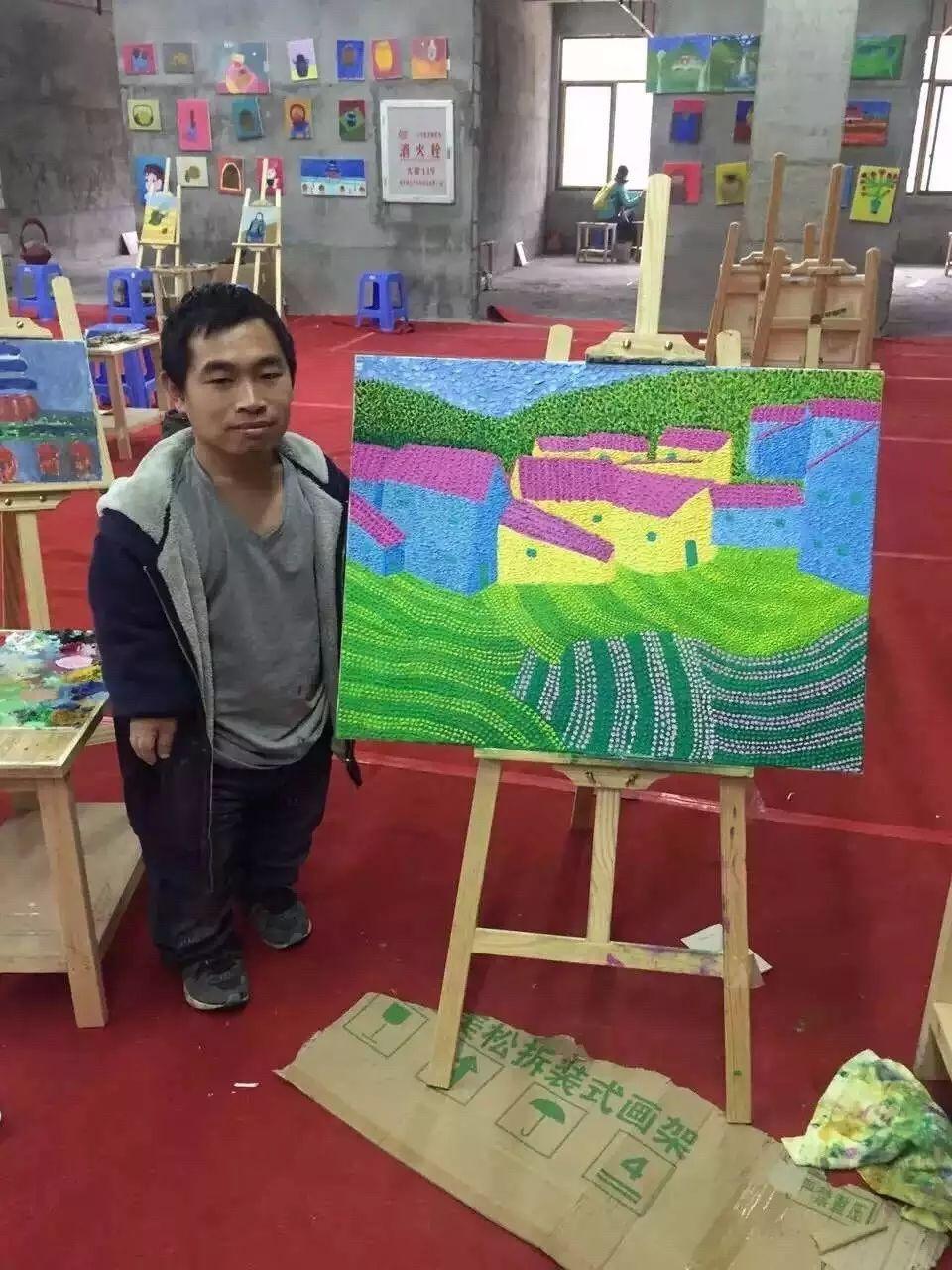 他教会了上万个农民画画却分文不收——林正碌插图6