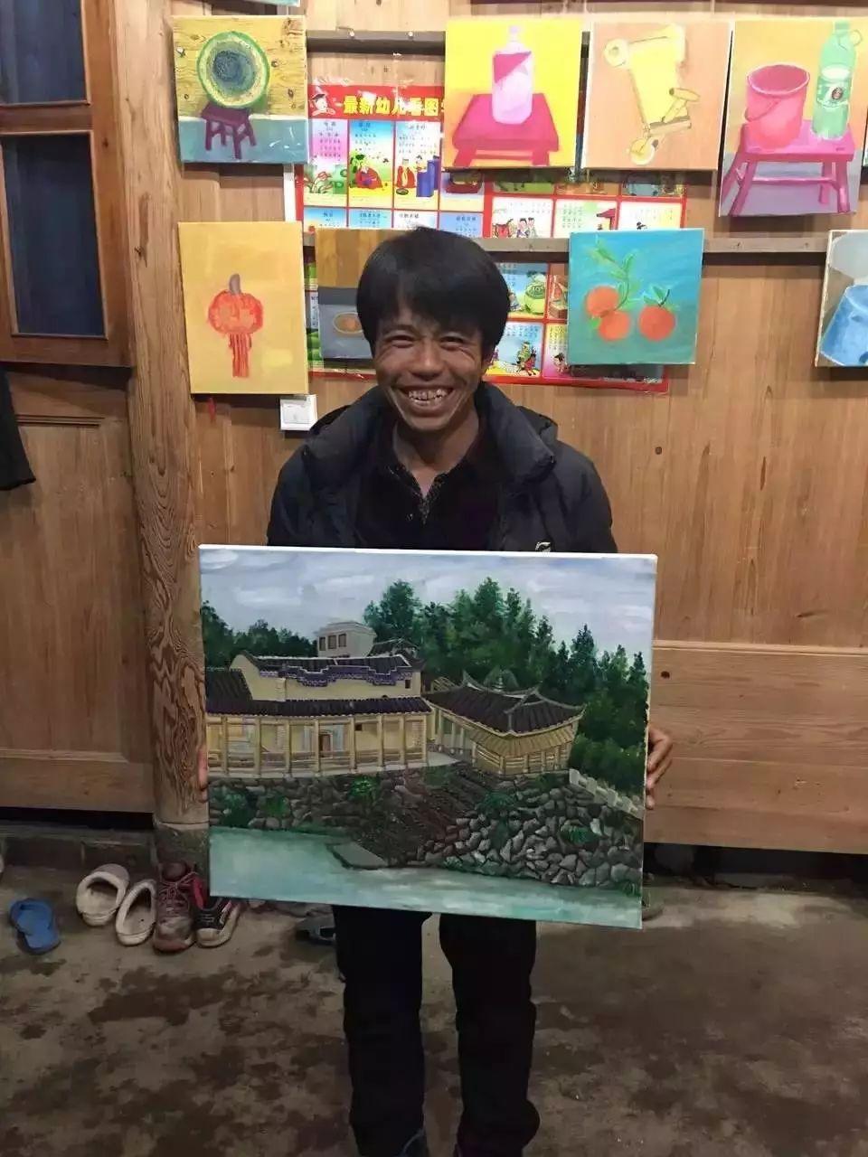 他教会了上万个农民画画却分文不收——林正碌插图34