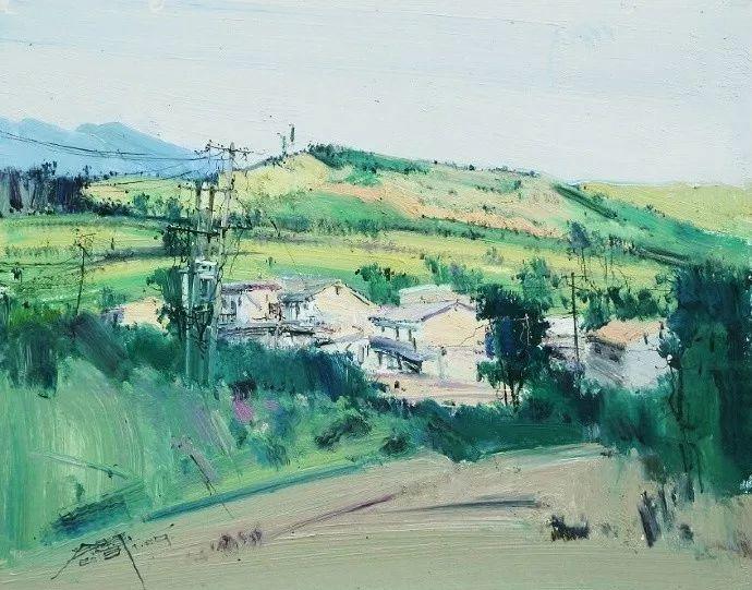 他是一位曾经获得中国电影金鸡奖的油画家插图5
