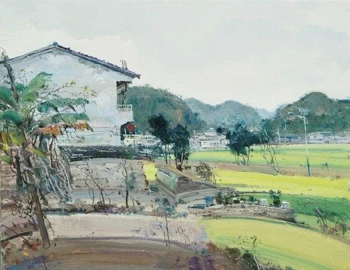 他是一位曾经获得中国电影金鸡奖的油画家插图7