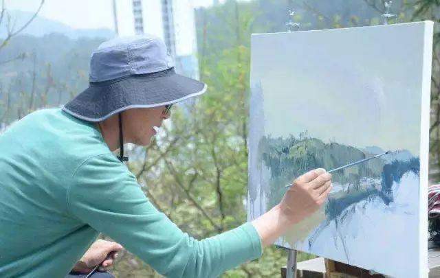 他是一位曾经获得中国电影金鸡奖的油画家插图9