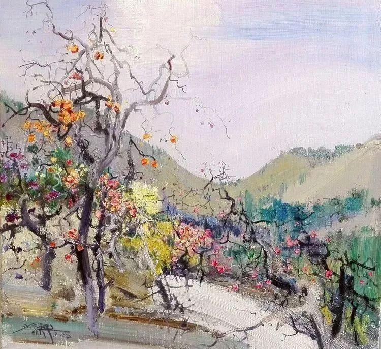 他是一位曾经获得中国电影金鸡奖的油画家插图15