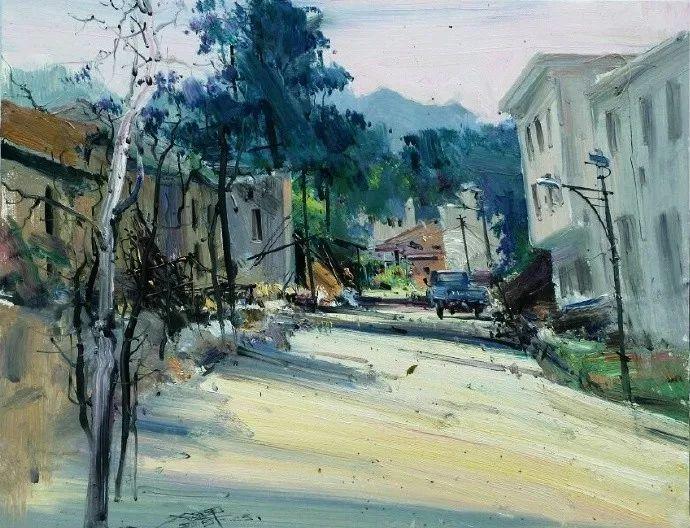 他是一位曾经获得中国电影金鸡奖的油画家插图19