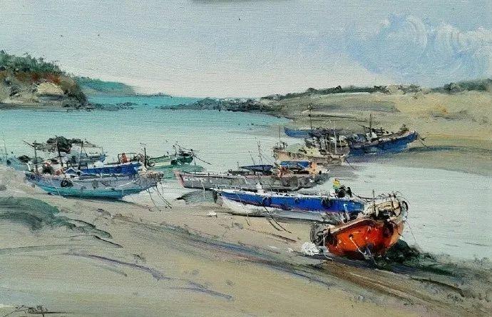 他是一位曾经获得中国电影金鸡奖的油画家插图25