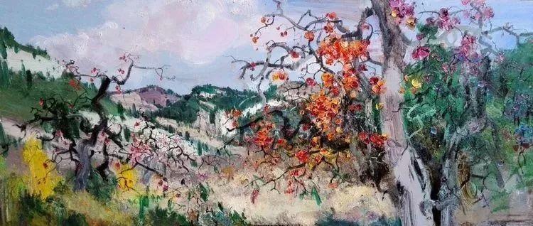 他是一位曾经获得中国电影金鸡奖的油画家插图29