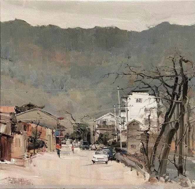 他是一位曾经获得中国电影金鸡奖的油画家插图49