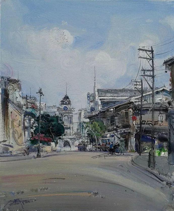 他是一位曾经获得中国电影金鸡奖的油画家插图57