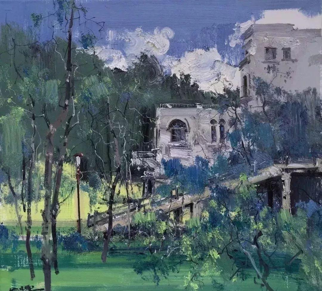 他是一位曾经获得中国电影金鸡奖的油画家插图63