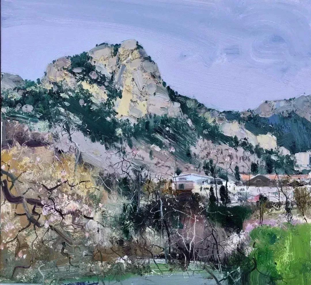 他是一位曾经获得中国电影金鸡奖的油画家插图67