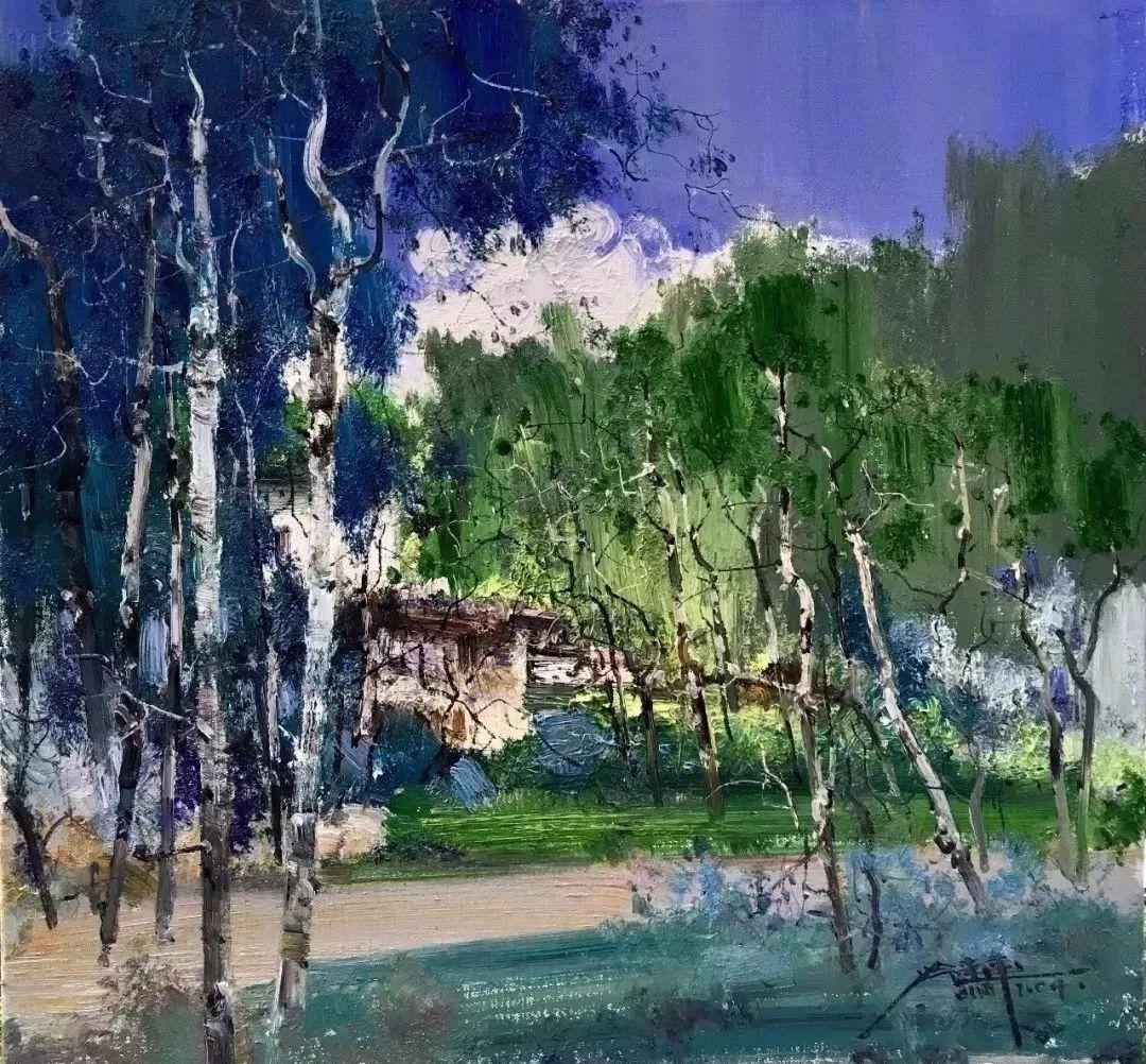 他是一位曾经获得中国电影金鸡奖的油画家插图69