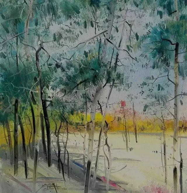 他是一位曾经获得中国电影金鸡奖的油画家插图73