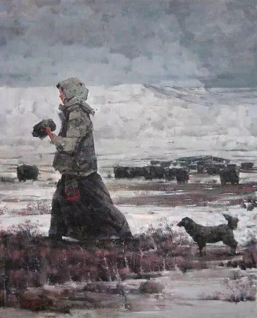 他是一位曾经获得中国电影金鸡奖的油画家插图77