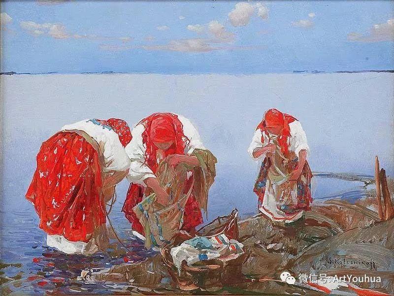 淳朴的风景 乌克兰画家Stepan Kolesnikov插图7