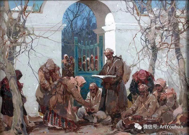 淳朴的风景 乌克兰画家Stepan Kolesnikov插图13