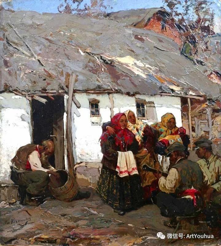淳朴的风景 乌克兰画家Stepan Kolesnikov插图19