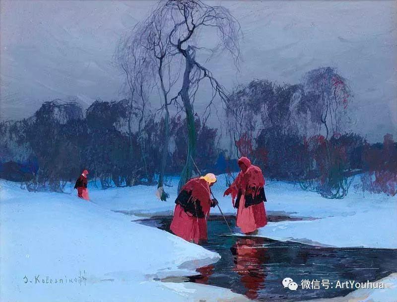淳朴的风景 乌克兰画家Stepan Kolesnikov插图33