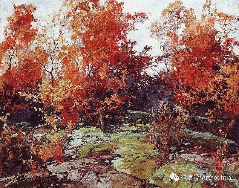 淳朴的风景 乌克兰画家Stepan Kolesnikov插图35