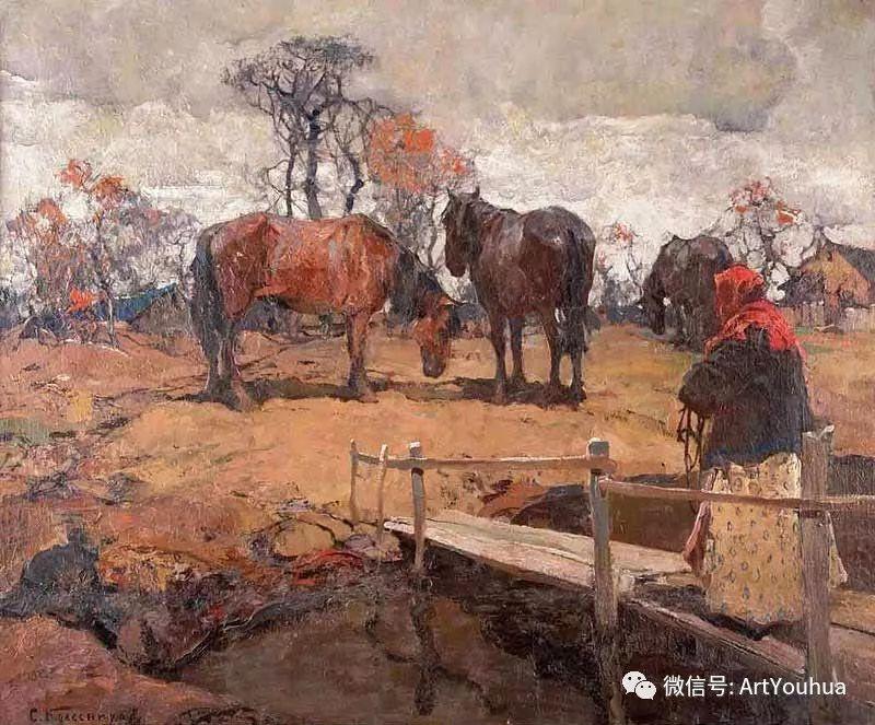 淳朴的风景 乌克兰画家Stepan Kolesnikov插图37