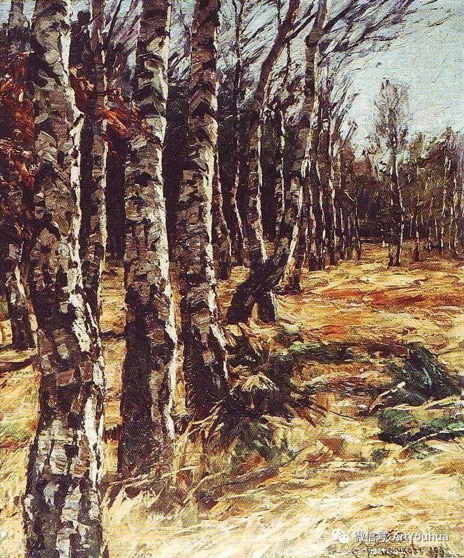 淳朴的风景 乌克兰画家Stepan Kolesnikov插图41