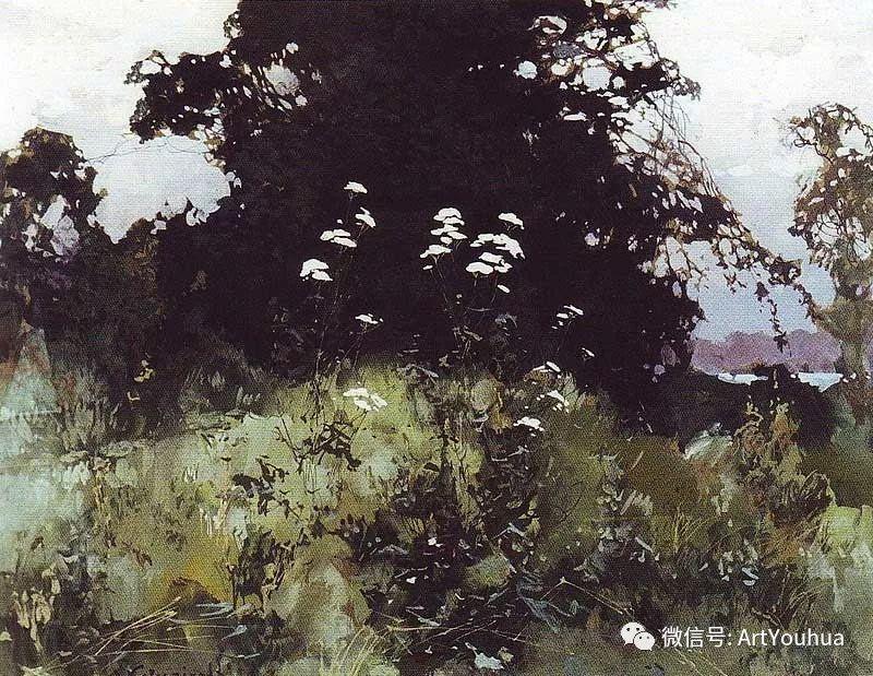 淳朴的风景 乌克兰画家Stepan Kolesnikov插图53