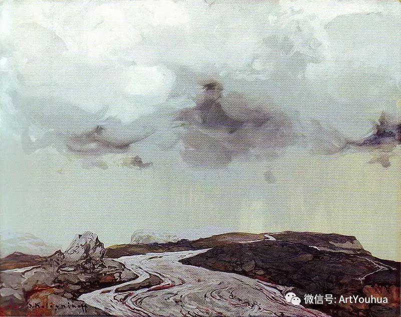 淳朴的风景 乌克兰画家Stepan Kolesnikov插图55