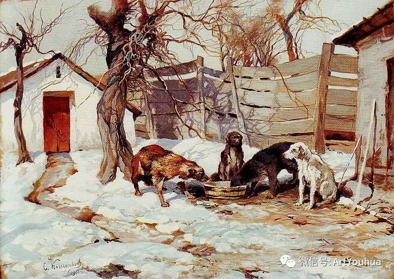 淳朴的风景 乌克兰画家Stepan Kolesnikov插图71