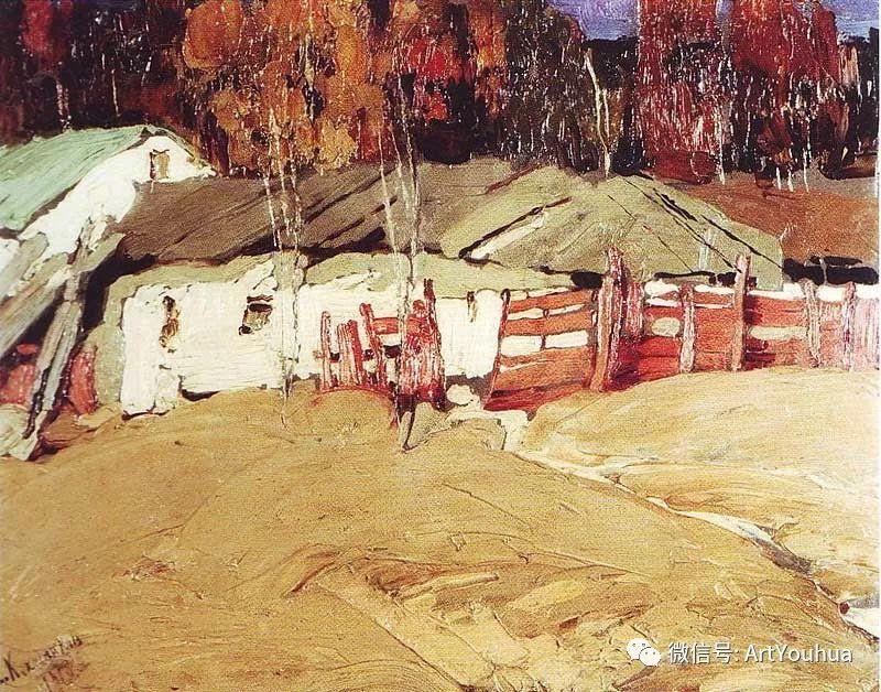 淳朴的风景 乌克兰画家Stepan Kolesnikov插图95