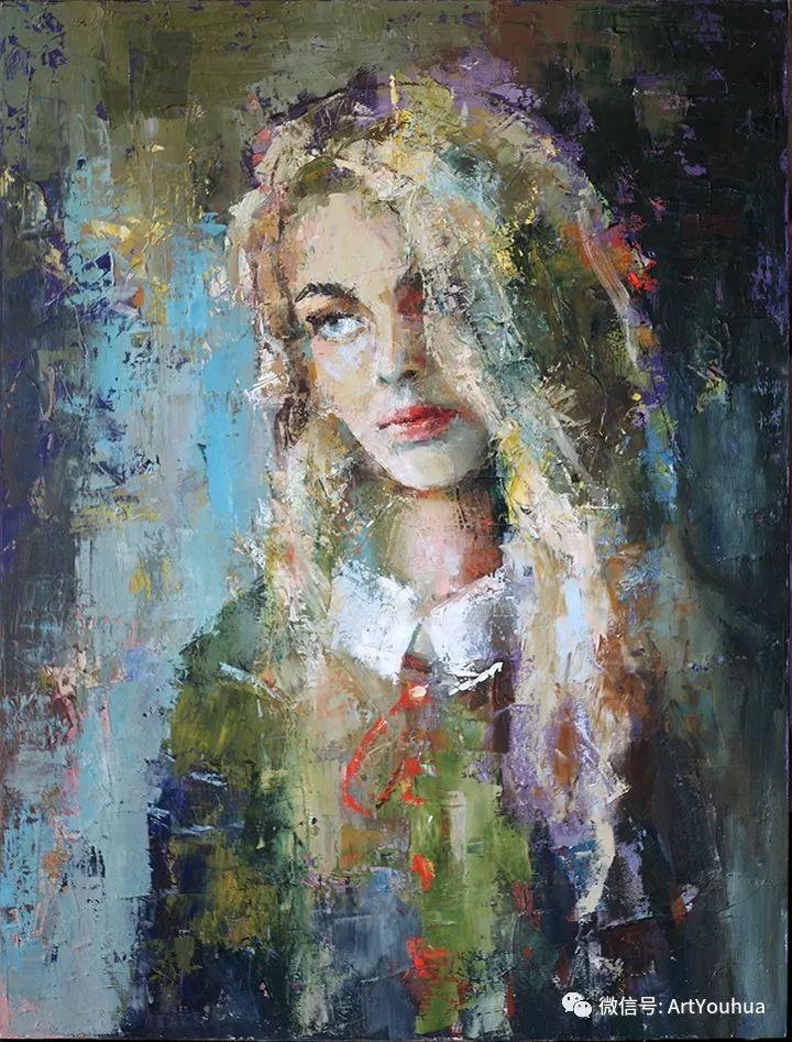 你喜欢这种肖像画吗?太美了~插图3