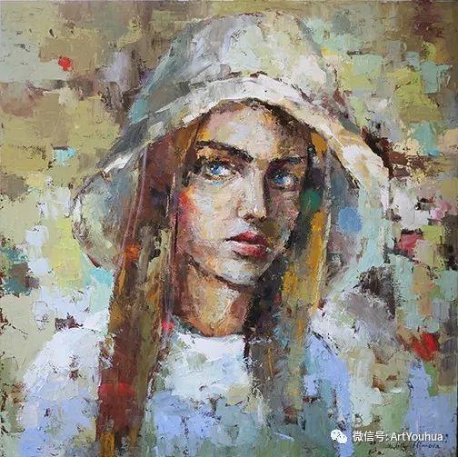 你喜欢这种肖像画吗?太美了~插图131