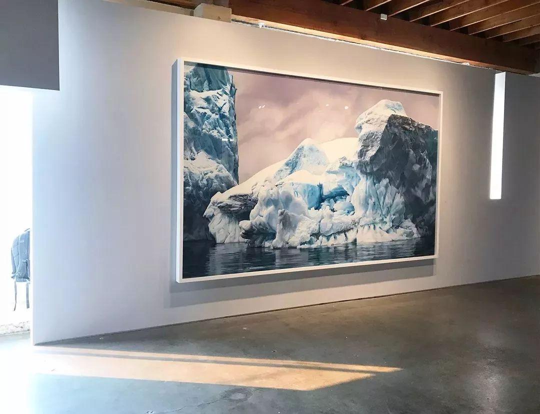 俘获了上千万粉丝的心 她用手指画出震撼的冰山插图119