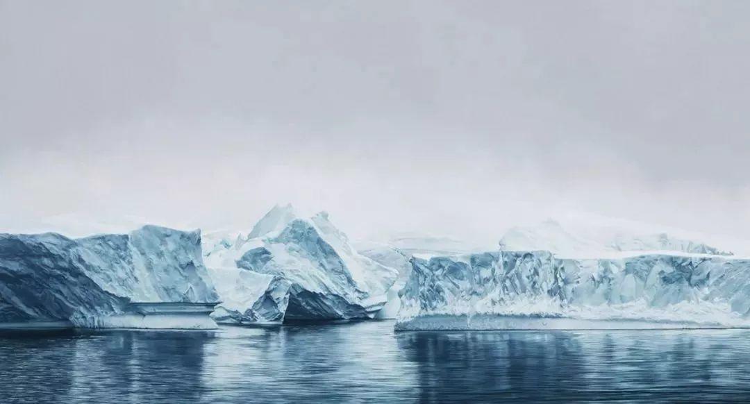 俘获了上千万粉丝的心 她用手指画出震撼的冰山插图145