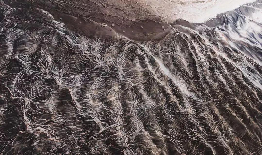 俘获了上千万粉丝的心 她用手指画出震撼的冰山插图147