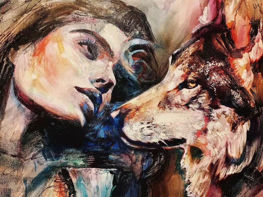 12岁开始画画 16岁就卖画赚100万——希腊小画家Dimitra Milan插图25