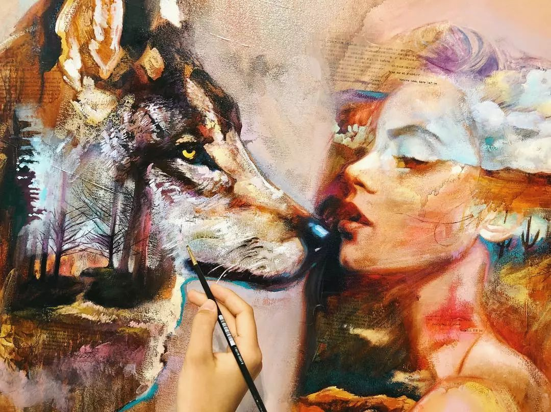 12岁开始画画 16岁就卖画赚100万——希腊小画家Dimitra Milan插图30