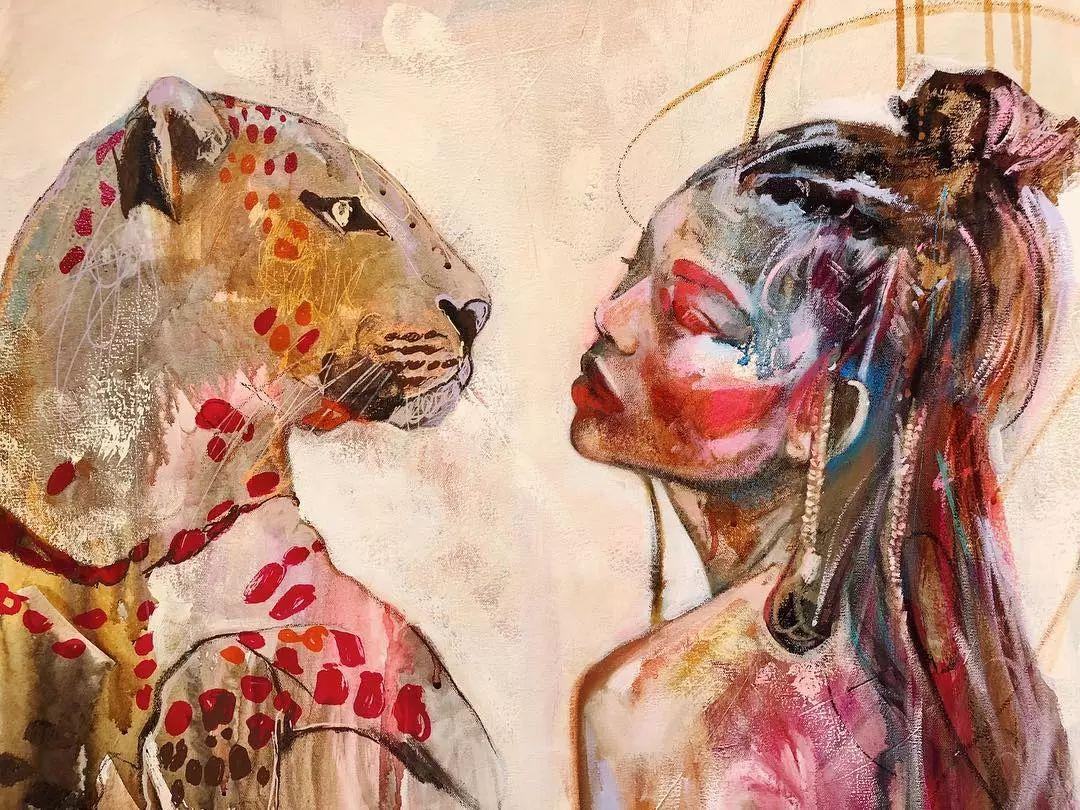 12岁开始画画 16岁就卖画赚100万——希腊小画家Dimitra Milan插图33