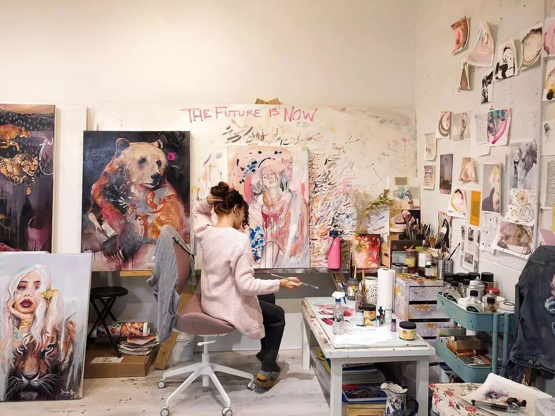 12岁开始画画 16岁就卖画赚100万——希腊小画家Dimitra Milan插图41