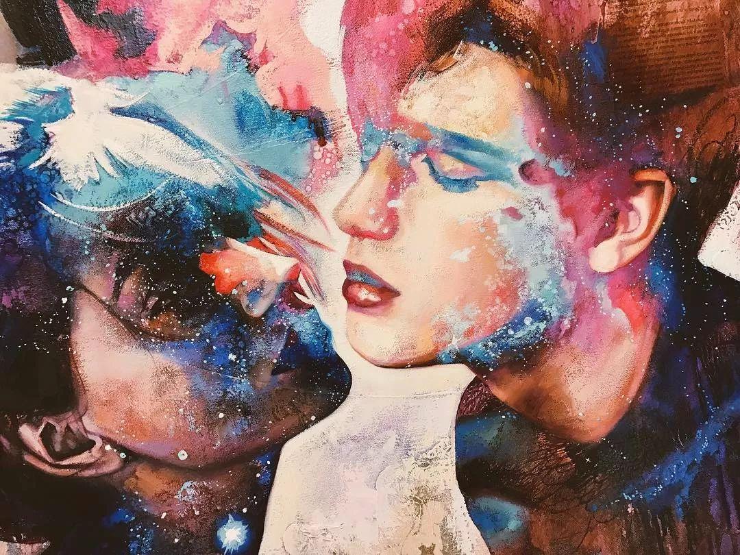 12岁开始画画 16岁就卖画赚100万——希腊小画家Dimitra Milan插图48