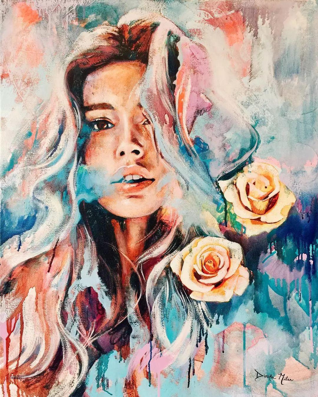 12岁开始画画 16岁就卖画赚100万——希腊小画家Dimitra Milan插图52