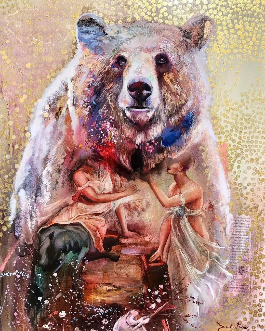 12岁开始画画 16岁就卖画赚100万——希腊小画家Dimitra Milan插图58