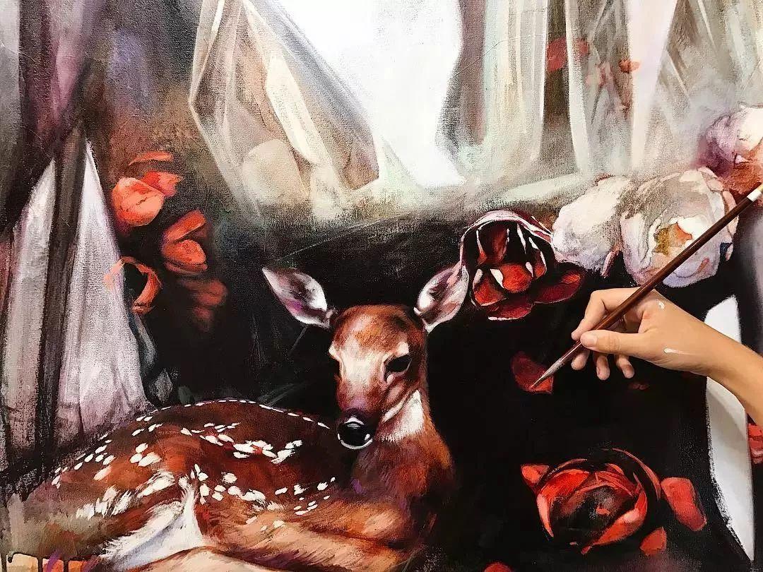 12岁开始画画 16岁就卖画赚100万——希腊小画家Dimitra Milan插图61