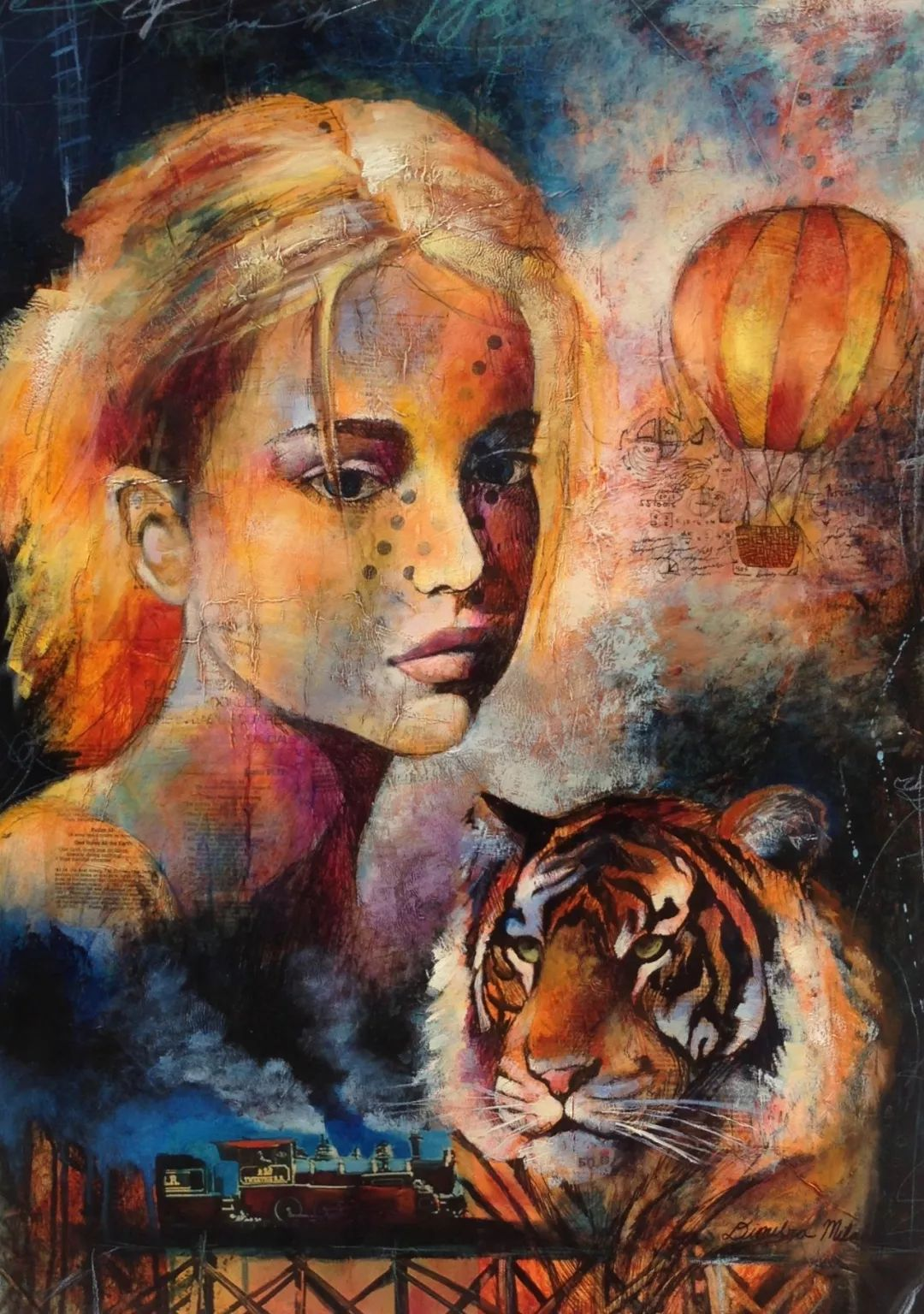 12岁开始画画 16岁就卖画赚100万——希腊小画家Dimitra Milan插图62