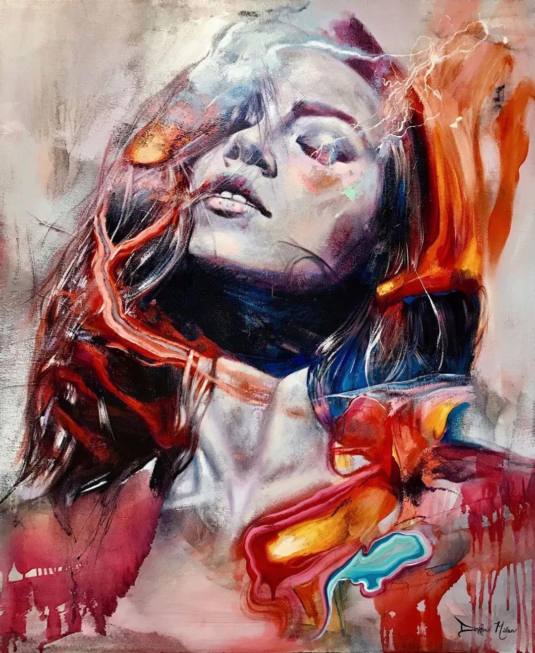 12岁开始画画 16岁就卖画赚100万——希腊小画家Dimitra Milan插图65