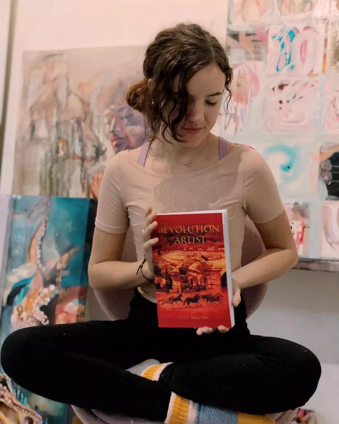 12岁开始画画 16岁就卖画赚100万——希腊小画家Dimitra Milan插图71