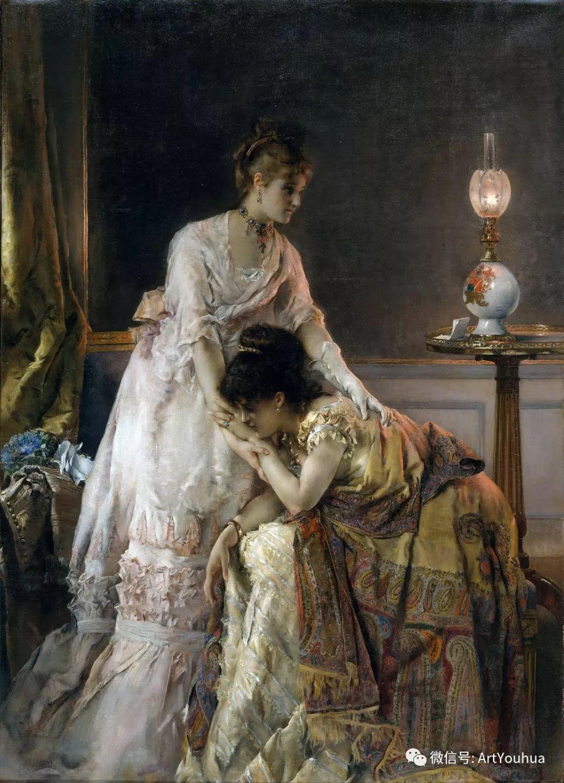 19世纪比利时美女都长啥样子插图1