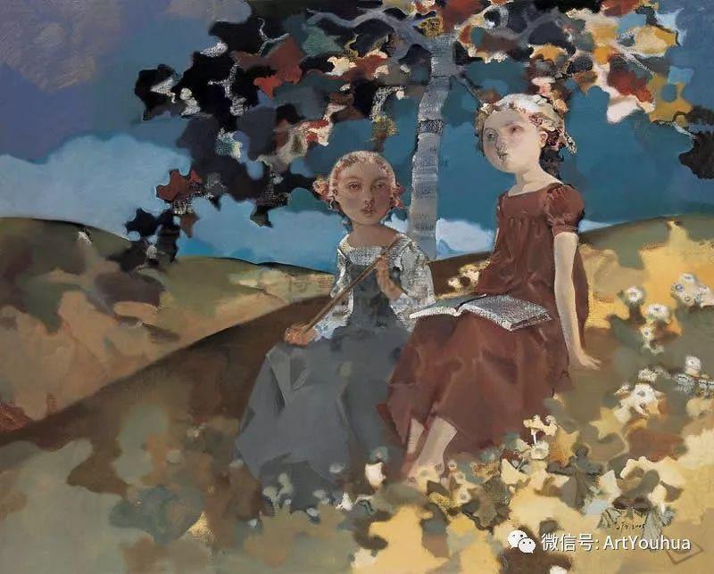 一位才华横溢的女画家夏俊娜插图15